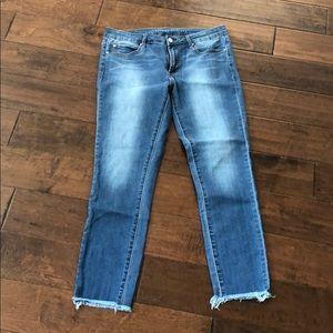 Articles of Society Frayed Hem Jeans. Size 30.